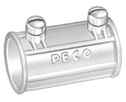 316 Peco 2-1/2 Die-cast Zinc Set Screw Conduit Coupling CAT702,316,E316,78524413160,SSCPL,SSCP250,SSC212,078524413160