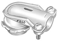 44 Peco 90 Deg 1-1/4 Die-cast Zinc Angle Connector CAT702,E44,ARL854,PEC44,078524410440