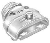 6 Peco 3/8 Zinc Mc, Duplex Conduit Connector CAT702,6,6,78524410060,6,70271107,078524410060