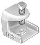 902 Peco 3/4 In Malleable Iron Beam Clamps CAT702,E902,SHL122TPZ,078524419020