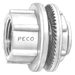 Wh-7 Peco 2-1/2 Die-cast Zinc Watertite Hub CAT702,EWH7,EWHL,ARLWH7,WH-7,078524420075