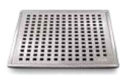 88.100.03 Qm 4 X 4 Polished Stainless Steel Grate/abs Base Shower Drain CATQM,856385005020