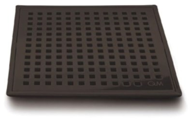 88.100.07 Qm 4 X 4 Oil Rubbed Bronze Stainless Steel Grate/abs Base Shower Drain CATQM,856385005587