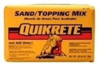 1103-40 Quikrete 40 Lb Sand Mix Bag CAT250CON,