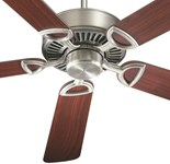 43525-92 D-w-o Estate 52 Ceiling Fan 5361 Cfm Indoor Antique Silver Body/rosewood/walnut Blade CATOQUO,DV4352592,