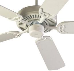 775258 D-w-o Capri 52 Ceiling Fan 5116 Cfm Indoor Studio White CATOQUO,DV775258,