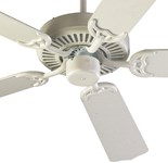 775258 D-w-o Capri 52 Ceiling Fan 5116 Cfm Indoor Studio White CATOQUO,DV775258,