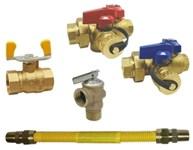 352r2-24 Tankless Isolation Kit Fnpt X Fnpt 24 Flexible Gas Connector CAT220RW,TIK,352R224,670779712758