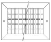 R1vm10x6w Reliable 10 X 6 White Aluminum Register CAT353,R1VM,R1VM10X6W,R1VM10X6,