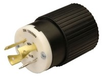 L1420p Reliance 20a 125/250v Male Locking Electrical Plug CAT752R,L1420P,