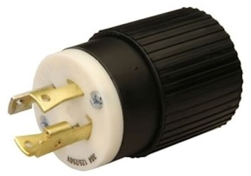 L1430p Reliance 30a 125/250v Male Locking Electrical Plug CAT752R,L1430P,