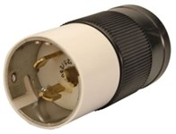 Ll550p Reliance 50a 125/250v Male Locking Electrical Plug CAT752R,LL550P,