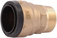 Uxl114140m Lf Sharkbite Connector 1-1/2 X 1-1/2 M Npt CAT250S,SB114140M,SBMAJ,697285040700