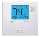 T701i Protech Pro1 Single Stage 1 Heat/1 Cool Digital-non Programmable Thermostat CAT330PR,T701I,WIFI,662766553932