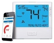 T855i Protech Pro1 Heat Pump Multi Stage 3 Heat/2 Cool Programmable Thermostat CAT330PR,PRO1 WIFI,T855I,662766545838
