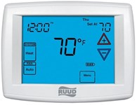 Uhc-tst305unms Protech Multi-stage, 2 Heat/2 Cool Conventional, 4 Heat/2 Cool Heat Pump Programmable Thermostat CAT330R,UHC-TST-305UNMS,UHCTST305UNMS,662766404265,RNCTSTAT,RDT,UHC