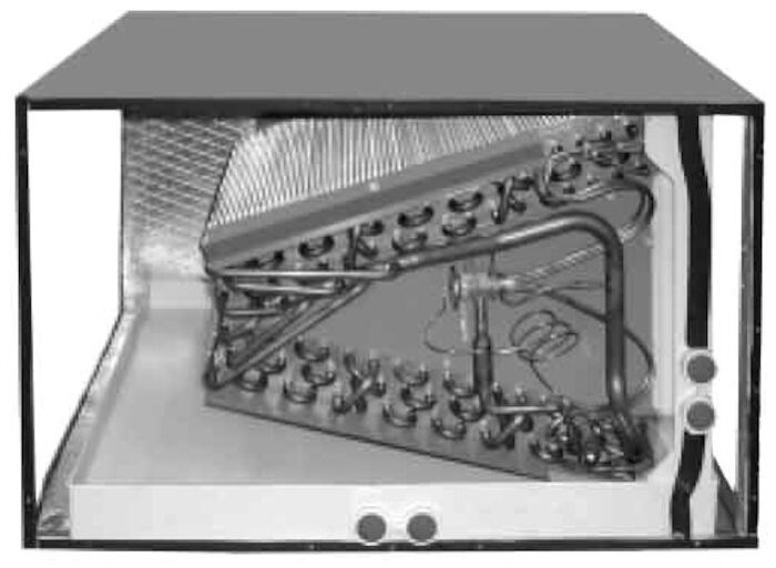 Rheem Ruud Manufacturing Ruud 4 Ton 16 And 18 Seer Upflow Horizontal Evaporator Coil