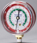 49001 Yellow Jacket Red Steel 1/8 R-12/r-22/r-502 Pressure Gauge CAT380RC,49001,68680049001,YJ49001,49001,68680049001,PGH,38095600,686800490014