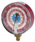 49137 Yellow Jacket Red Steel 1/8 R-22/r-404a/r-410a Pressure Gauge CAT380RC,49137,68680049137,49137,HSG,686800491370,RIT49137,RMG,38049137