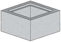 36 X 36 X 6 Concrete Catch Basin Riser CAT663,36X36X6CBR,