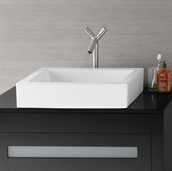 200036-wh Ronbow White Vessel Mount Bathroom Sink CATRON,200036-WH,MFGR VENDOR: RONBOW,PRCH VENDOR: RONBOW,