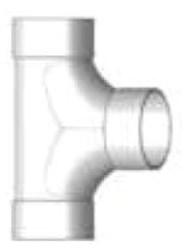 P1004 4 Pvc Sdr 2-way Cleanout (sewer) CAT467SW,D2CON,P1004,SDR2CON,DF1004,D2COTN,V2204,03361,40350,287140,D2WT,10089938001126,D2TN,2WCO,0089938001129,622454403505,