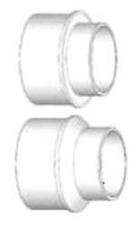 P1205 4 In X 2 In Pvc Sdr 35 Dwv Adapter Bushing Solvent Sewer Spigot X Solvent Dwv Hub CAT467SW,DWDNK,DWBNK,P1205,SDRDWVBUSHNK,DF1205,46723094,V1042,40935,281444,SAB,00089938003048,10089938003045,DBNK,10089938003502,WDANK,DB42,DWVSD,0089938003048,622454409354,