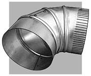 111630b Royal Metal 6 90 Degree 30 Gauge Elbow