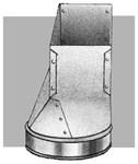 2416106 Royal Metal 6 X 10 X 6 30 Gauge Floor Register Boot Straight