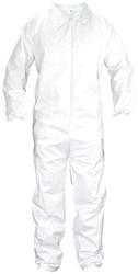 6853 Sas Safety White Disposable Coverall Large CATSAS,MFGR VENDOR: SAS,PRCH VENDOR: SAS,