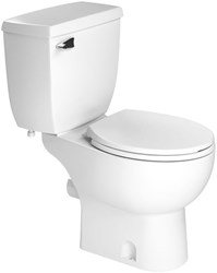 005 Saniflo Saniplus 1.28 Gpf Left Hand Lever White Toilet Tank Only CATSANF,005,75937000057,002,013,003,007,SANIBEST,SANIPLUS,SFP,SAN005,075937000057