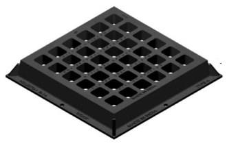 2401 Sip 30 X 30 Square Ci Sewer Grate Only CAT686I,2401,MFGR VENDOR: SIP,PRCH VENDOR: SIP,