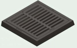 2651 Sip 27 X 27 Square Ci Sewer Grate CAT686I,2651,GRATE ONLY,CIG2727,