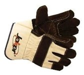 6670xl Saf-t-glove Brown Leather Glove Xl CAT250GL,6670XL,6670,