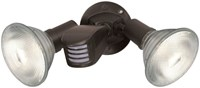 76503 Nuvo 2 Lt Bronze 150 Watts Par39 Security Light CAT766,76503,045923765032,SATSHLSF76503
