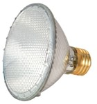 S2235 Satco Par30 Halogen 530 Lumens 3000k E26 Medium Base Clear Light Bulb CAT766,S2235,045923022357