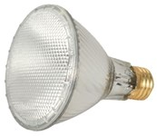 S2243 Satco Par30 Halogen 1090 Lumens 3000k E26 Medium Base Clear Light Bulb CAT766,S2243,045923022432