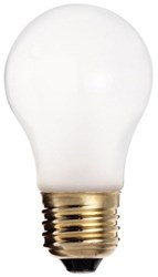 S3811 Satco A15 Incandescent 280 Lumens E26 Medium Base Frosted Light Bulb CAT766,S3811,045923038112,20045923038116,10045923038119