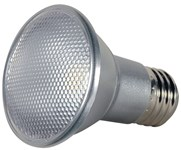 S9406 Satco Par20 Led 525 Lumens 3000k E26 Medium Base Silver Light Bulb CAT766,S9406,045923094064,SATS9406