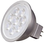 S9495 Satco Mr16 Led 500 Lumens 2700k Gu5.3 Base Silver Back Light Bulb CAT766,S9495,045923094958,SATS9495
