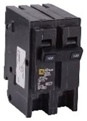 Hom2100 Schneider Electric 100a 120/240v 2 Pole Hom Plug-on Circuit Breaker CAT746,HOM2100,