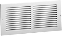 01110804cw 170 8 X 4 Bright White Steel Return Air Grille CAT350,01110804CW,053713860799,17084,11184