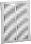 01152014cw 170ff 111 20 X 14 Bright White Steel Return Air Filter Grille CAT350,1112014,SEL1112014,111,170FF2014,1152014,053713867798,053713869426