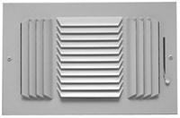 01731006cw 503m 143m 10 X 6 Bright White Enamel Steel Register CAT350,08770802,143M106,143106,SEL143M106,503M-10X6,143M,503M106,053713902833,503M,1731006CW