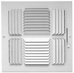 01740606cw 504m 144m 6 X 6 Bright White Enamel Steel 4-way Register CAT350,144M66,14466,SEL144M66,144M,504M66,504M,1740606CW,053713903298