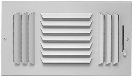 03450808cw 603-m 8 X 8 Bright White Enamel Steel 3-way Register CAT350,053713913297,183M,183M,603M88,603M,3450808CW,35019358