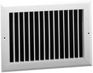 07221008cw E200vm 10 X 8 Bright White Extruded Aluminum Register CAT350,E200VM,10X8,053713954153