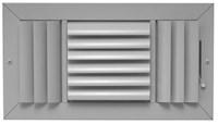 07581006cw E403m 303m 10 X 6 Bright White Extruded Aluminum 3-way Register CAT350,303106,303HM106,303HM,SEL303HM106W,1063W,303M,E403M106,053713988684