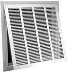 03104824cw Tb-170ff 48 X 24 Bright White Steel Return Air Filter Grille CAT350,053713909955,FG4824,TB170,TB170FF