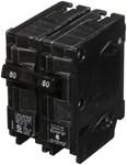 Q280 Siemens 80 Amps 120/240 Volts 2 Pole Qp Plug-in Circuit Breaker CAT751S,Q280,783643156746,MFGR VENDOR: SIEMENS